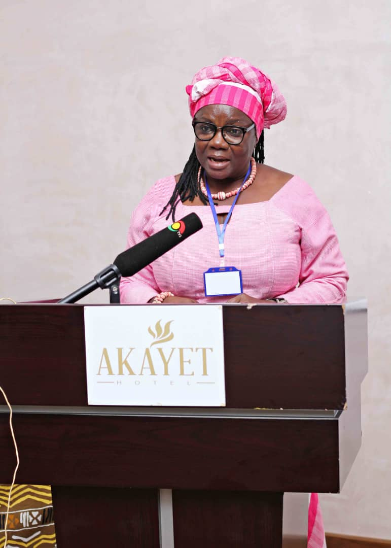 Prof Agnes Apusigah, member of the STAR-Ghana (SC) speaking on behalf of Dr Esther Esther Ofei Aboagye, Chairperson of the the STAR-Ghana SC