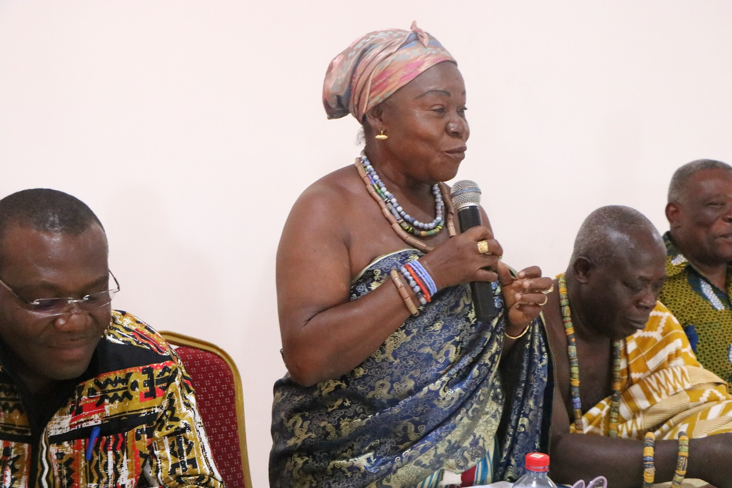 Mama Agblatsu III, Afetornyonufia of Ho Bankoe, Chaired the event