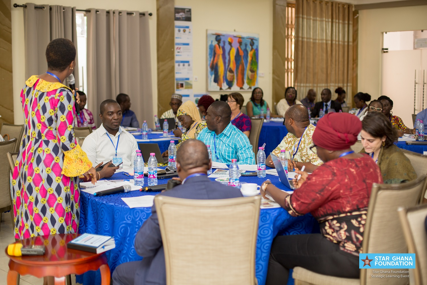 A cross-section of participants at the event