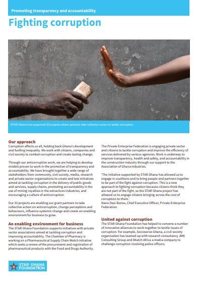 Anti-corruption info note
