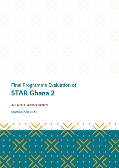 STAR-Ghana Phase 2 Evaluation Report